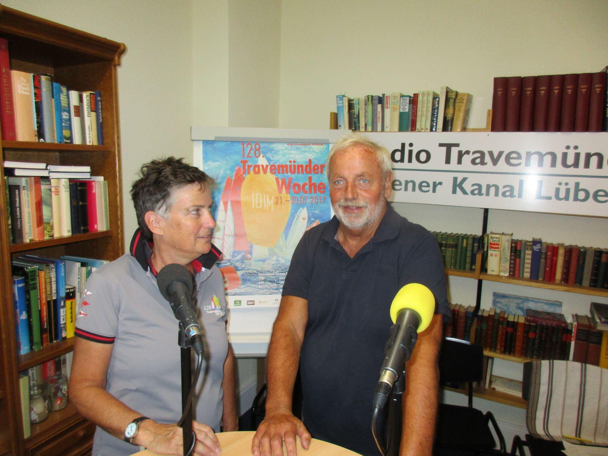 Frauke Klatt beim Travemünder Journal