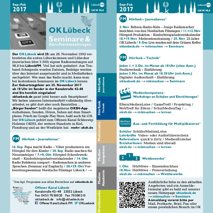 Seminarprogramm OKL 2/17