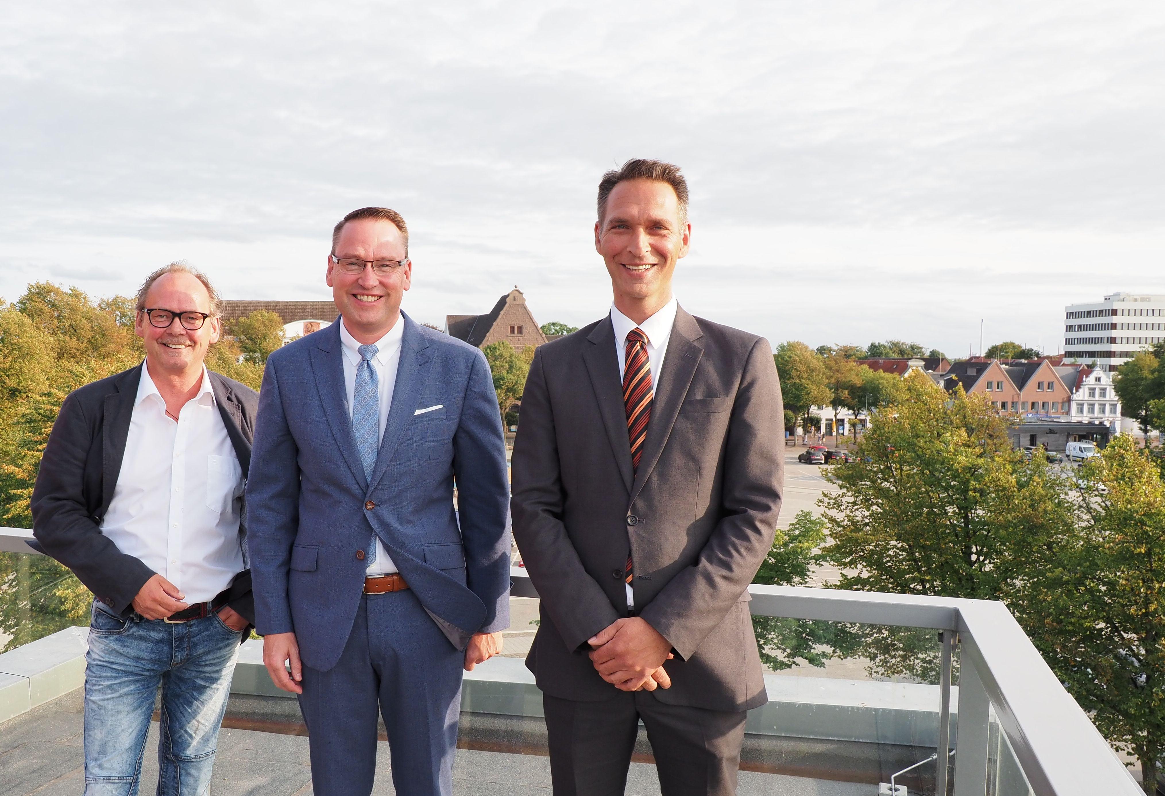 Bürgermeisterkandidaten Heide