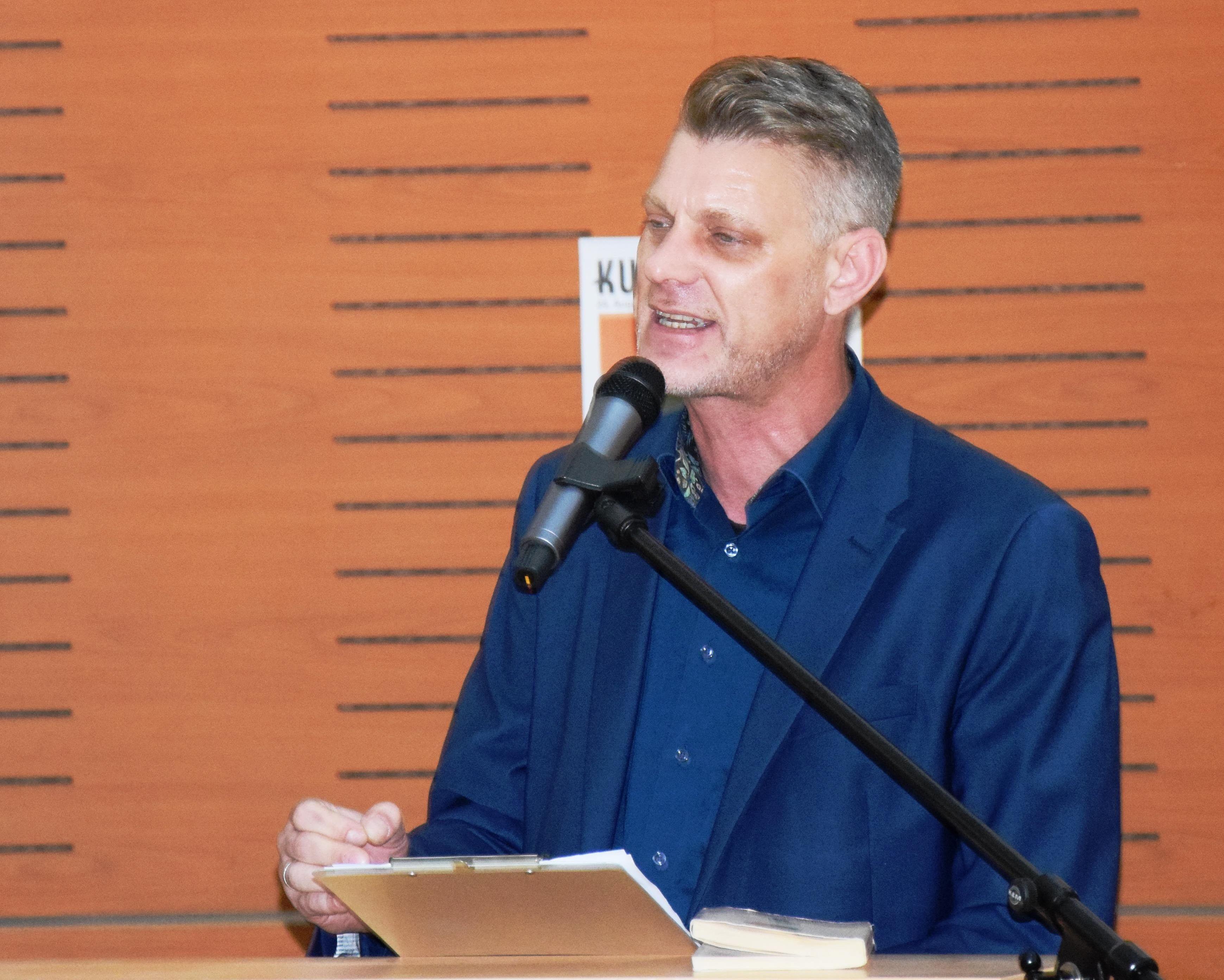 Björn Högsdal war Gastredner bei der Kunstgriff Ouvertüre
