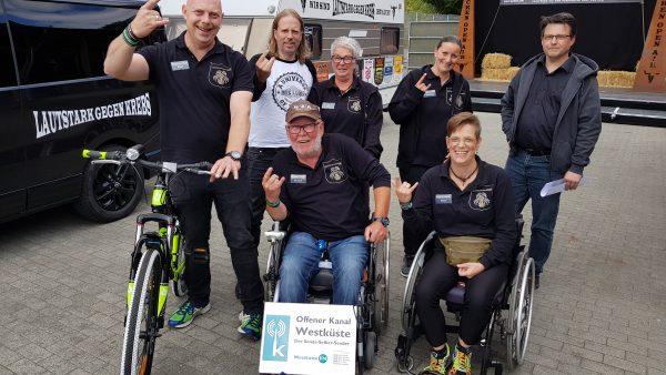 Spendentour LAUTSTARK gegen KREBS