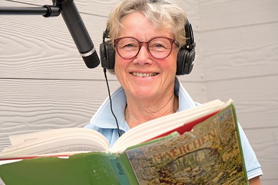 Märchenerzählerin Sigrid Nolte-Schefold