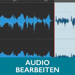 Audio bearbeiten